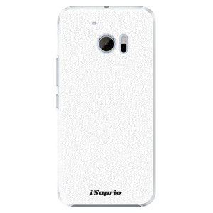 Plastové pouzdro iSaprio 4Pure bílé na mobil HTC 10