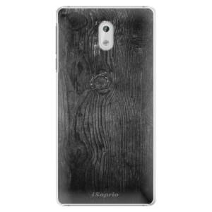 Plastové pouzdro iSaprio black Wood 13 na mobil Nokia 3