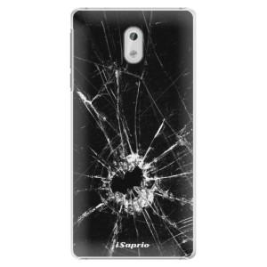 Plastové pouzdro iSaprio Broken Glass 10 na mobil Nokia 3