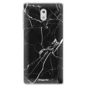 Plastové pouzdro iSaprio black Marble 18 na mobil Nokia 3