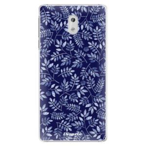 Plastové pouzdro iSaprio Blue Leaves 05 na mobil Nokia 3