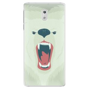 Plastové pouzdro iSaprio Angry Bear na mobil Nokia 3