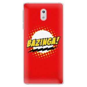 Plastové pouzdro iSaprio Bazinga 01 na mobil Nokia 3