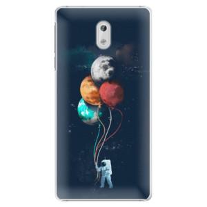 Plastové pouzdro iSaprio Balloons 02 na mobil Nokia 3