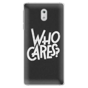Plastové pouzdro iSaprio Who Cares na mobil Nokia 3