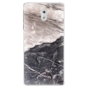 Plastové pouzdro iSaprio BW Marble na mobil Nokia 3