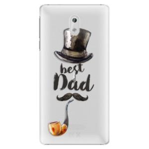 Plastové pouzdro iSaprio Best Dad na mobil Nokia 3