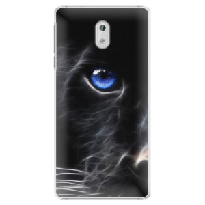 Plastové pouzdro iSaprio black Puma na mobil Nokia 3