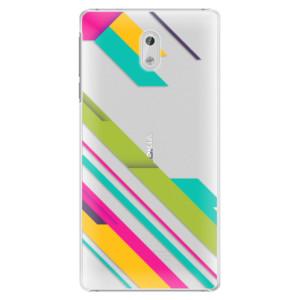 Plastové pouzdro iSaprio Barevné Pruhy 03 na mobil Nokia 3
