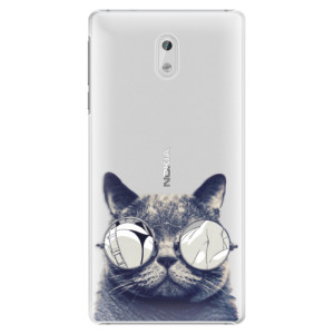 Plastové pouzdro iSaprio Šílená Číča 01 na mobil Nokia 3