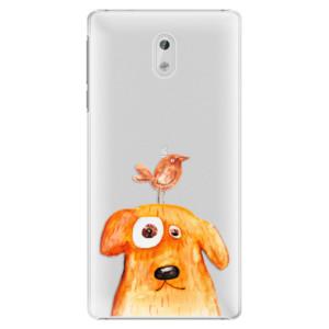 Plastové pouzdro iSaprio Pejsek a Ptáček na mobil Nokia 3