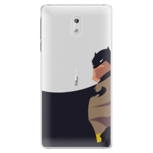 Plastové pouzdro iSaprio BaT Comics na mobil Nokia 3