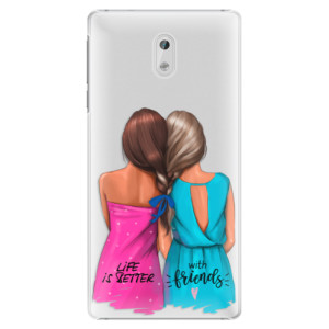 Plastové pouzdro iSaprio Best Friends na mobil Nokia 3