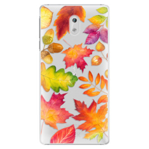 Plastové pouzdro iSaprio Autumn Leaves 01 na mobil Nokia 3