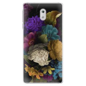 Plastové pouzdro iSaprio Temné Květy na mobil Nokia 3