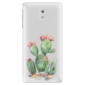 Plastové pouzdro iSaprio Kaktusy 01 na mobil Nokia 3
