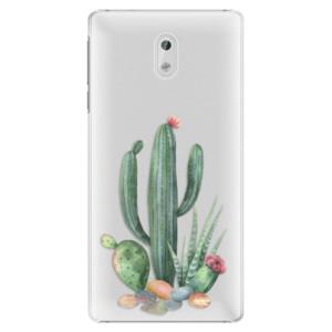 Plastové pouzdro iSaprio Kaktusy 02 na mobil Nokia 3