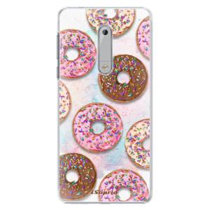 Plastové pouzdro iSaprio Donutky Všude 11 na mobil Nokia 5