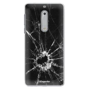 Plastové pouzdro iSaprio Broken Glass 10 na mobil Nokia 5