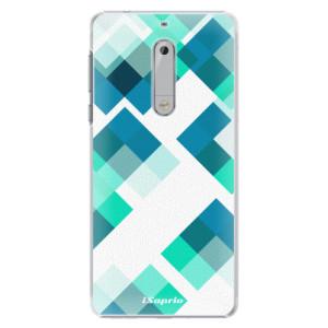 Plastové pouzdro iSaprio Abstract Squares 11 na mobil Nokia 5