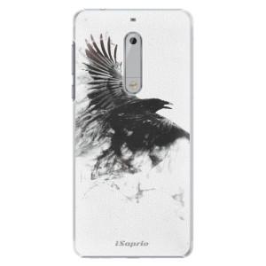 Plastové pouzdro iSaprio Havran 01 na mobil Nokia 5