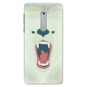 Plastové pouzdro iSaprio Angry Bear na mobil Nokia 5