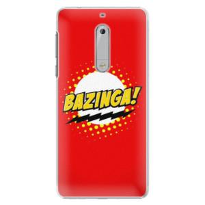 Plastové pouzdro iSaprio Bazinga 01 na mobil Nokia 5