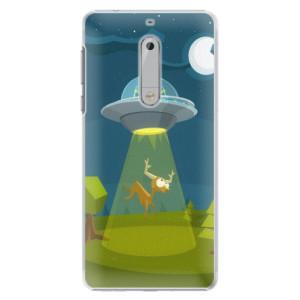 Plastové pouzdro iSaprio Alien 01 na mobil Nokia 5