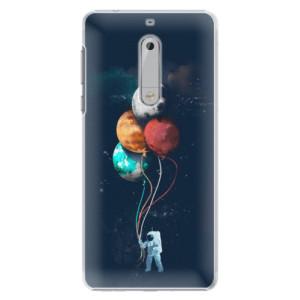 Plastové pouzdro iSaprio Balloons 02 na mobil Nokia 5