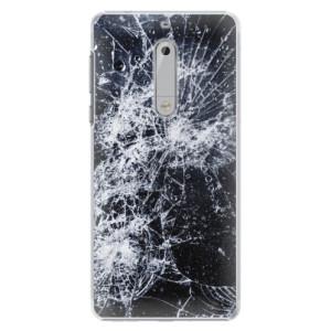 Plastové pouzdro iSaprio Praskliny na mobil Nokia 5