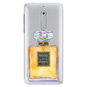 Plastové pouzdro iSaprio Chanel Gold na mobil Nokia 5