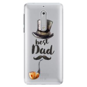 Plastové pouzdro iSaprio Best Dad na mobil Nokia 5
