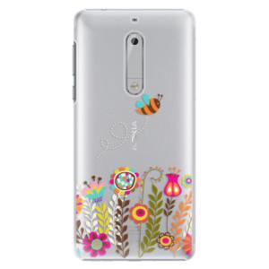 Plastové pouzdro iSaprio Bee 01 na mobil Nokia 5
