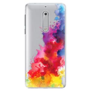 Plastové pouzdro iSaprio Color Splash 01 na mobil Nokia 5