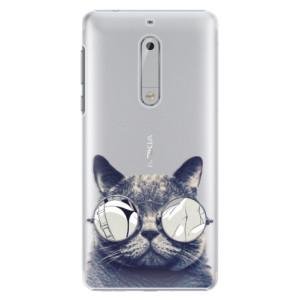 Plastové pouzdro iSaprio Šílená Číča 01 na mobil Nokia 5