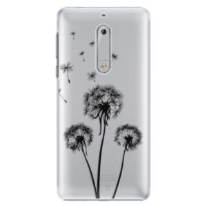 Plastové pouzdro iSaprio Tři Černé Pampelišky na mobil Nokia 5