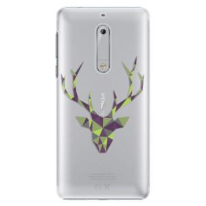 Plastové pouzdro iSaprio Zelený Jelínek na mobil Nokia 5