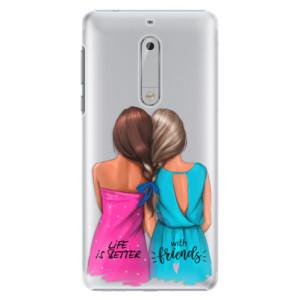 Plastové pouzdro iSaprio Best Friends na mobil Nokia 5