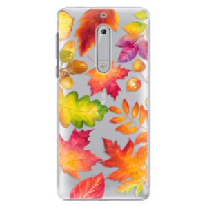 Plastové pouzdro iSaprio Autumn Leaves 01 na mobil Nokia 5