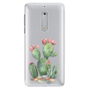 Plastové pouzdro iSaprio Kaktusy 01 na mobil Nokia 5