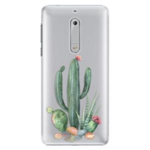 Plastové pouzdro iSaprio Kaktusy 02 na mobil Nokia 5