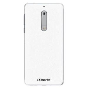 Plastové pouzdro iSaprio 4Pure bílé na mobil Nokia 5
