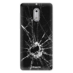 Plastové pouzdro iSaprio Broken Glass 10 na mobil Nokia 6