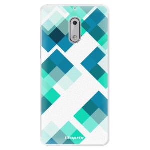 Plastové pouzdro iSaprio Abstract Squares 11 na mobil Nokia 6