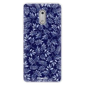 Plastové pouzdro iSaprio Blue Leaves 05 na mobil Nokia 6