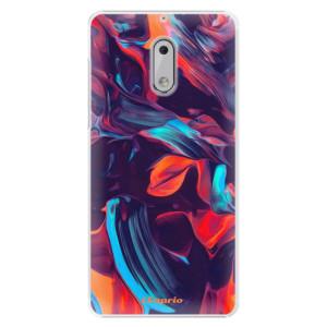Plastové pouzdro iSaprio Barevný mramor 19 na mobil Nokia 6