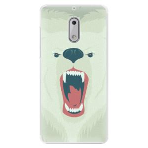 Plastové pouzdro iSaprio Angry Bear na mobil Nokia 6