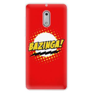 Plastové pouzdro iSaprio Bazinga 01 na mobil Nokia 6