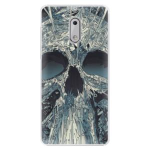 Plastové pouzdro iSaprio Abstract Skull na mobil Nokia 6