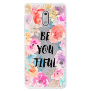Plastové pouzdro iSaprio BeYouTiful na mobil Nokia 6